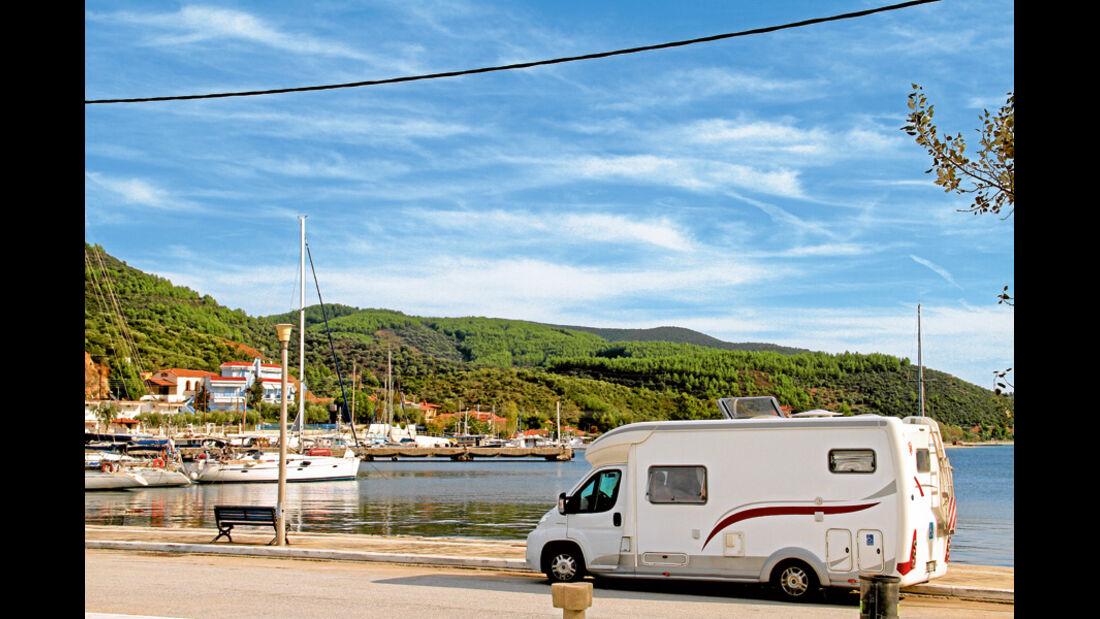 Hafen von Kuofos
