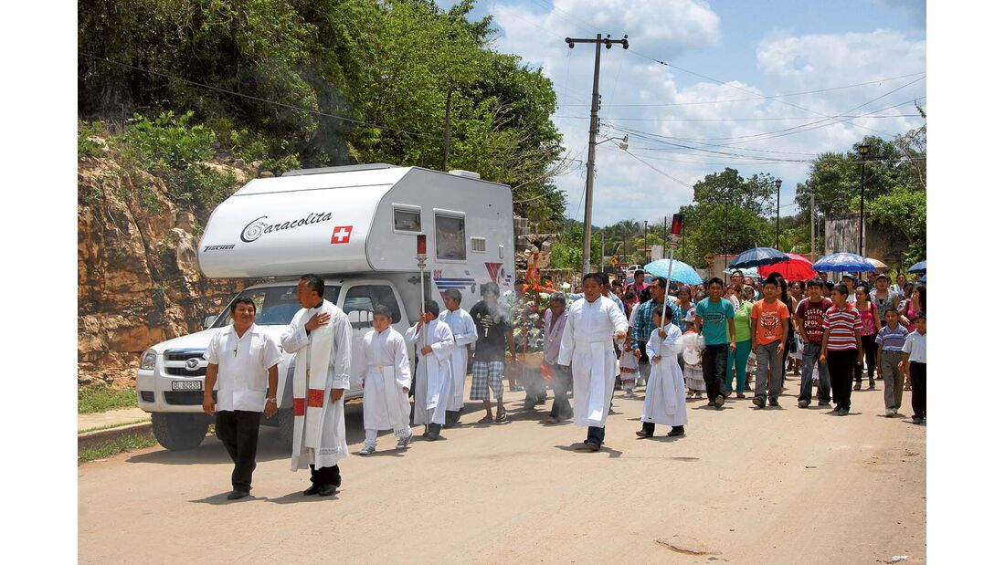 Halbinsel Yucatan, Mexiko: Wo früher die Maya lebten, dominiert heute der christliche Glaube.