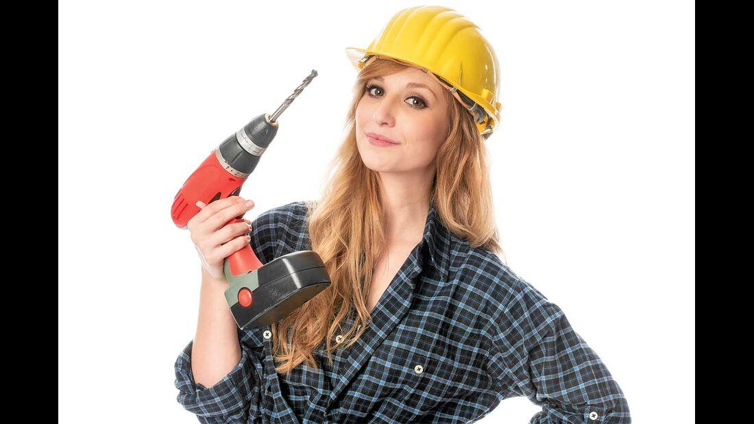Handwerkerin Frau