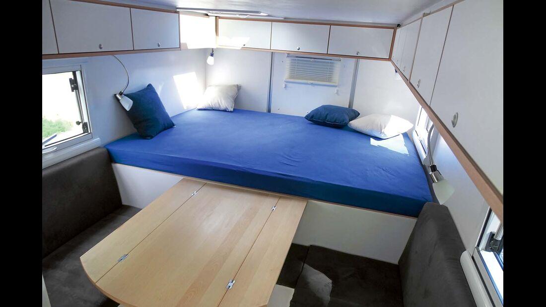 Heavy-Duty Komplettkabine auf Basis eines Zeppelin-Shelters ab 69 000 Euro.