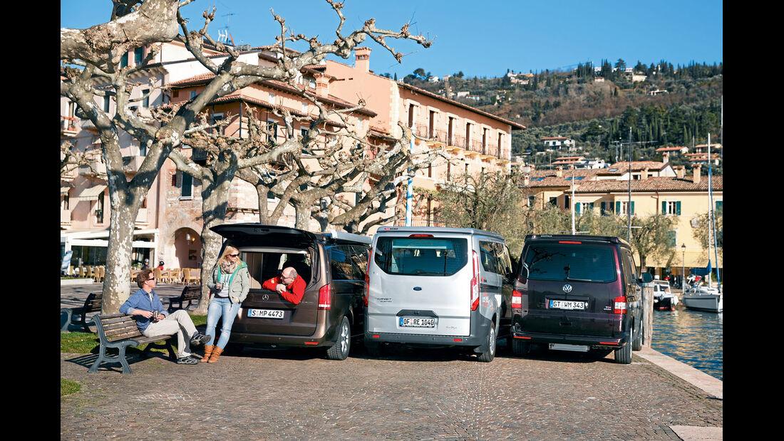 Heckfenster aufklappbar optional nur beim Mercedes Marco Polo