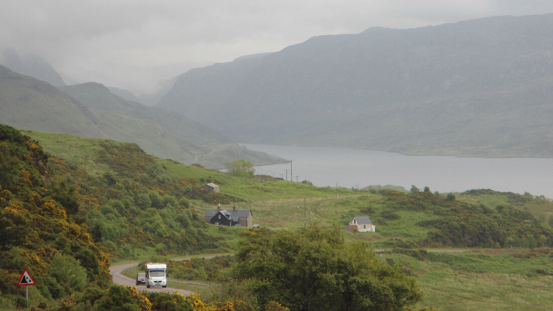 Highland Fun geführte Reisemobil-Tour