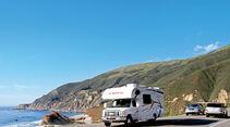 Highway No. 1 zwischen Morro Bay und Monterey.