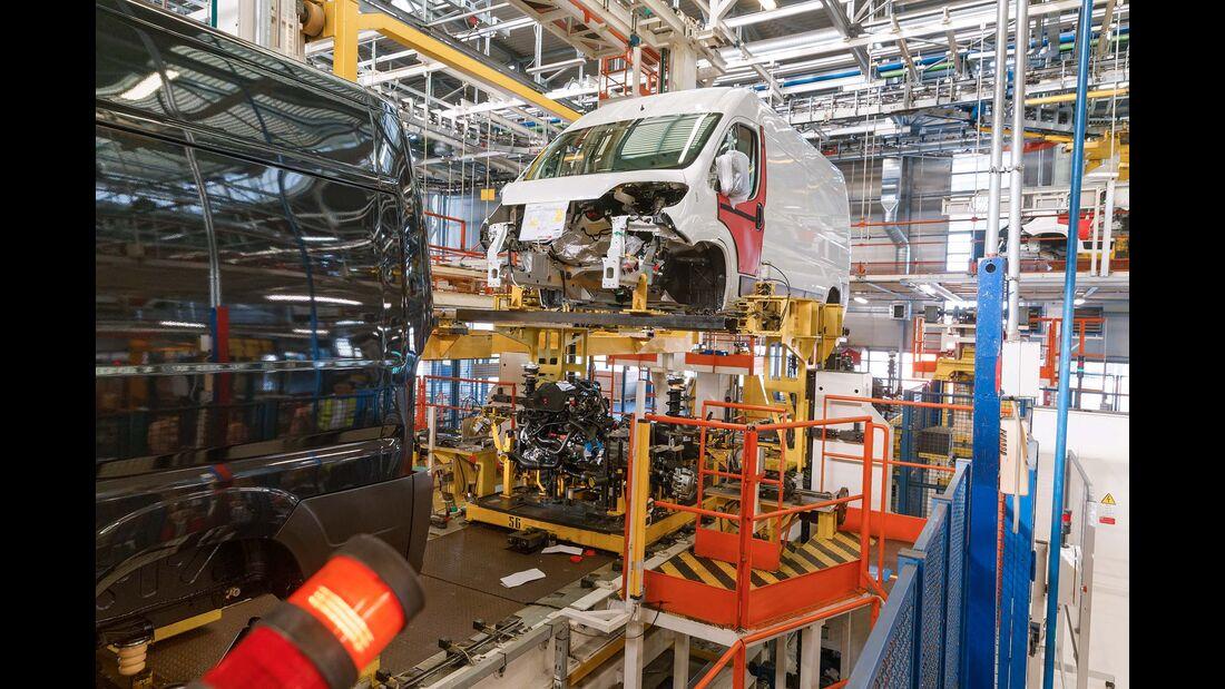 Hinter den Kulissen Fiat Werk