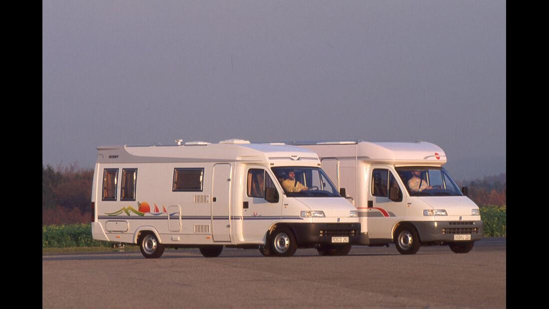 Hobby 600 Buerstner T von 1995