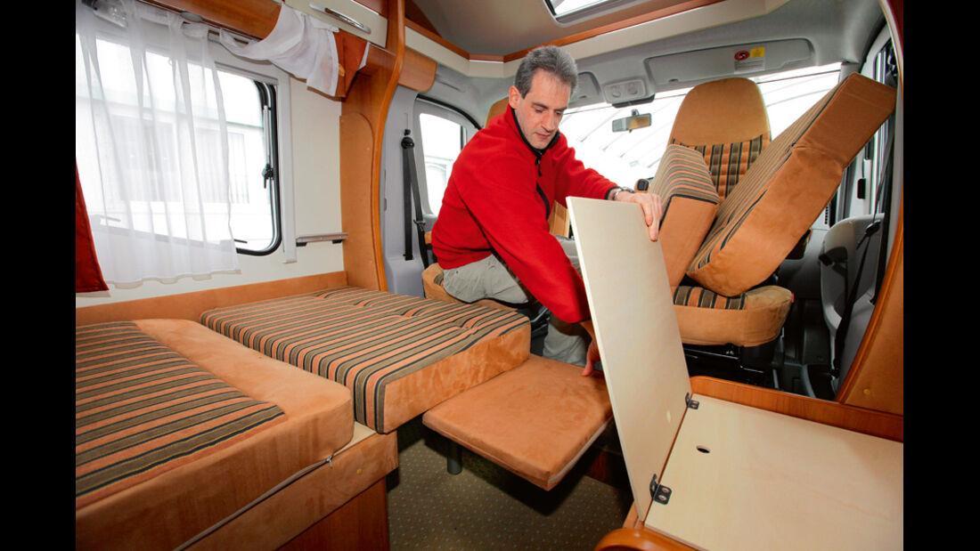 Hobby Van Exclusive DL 500 GESC Betten