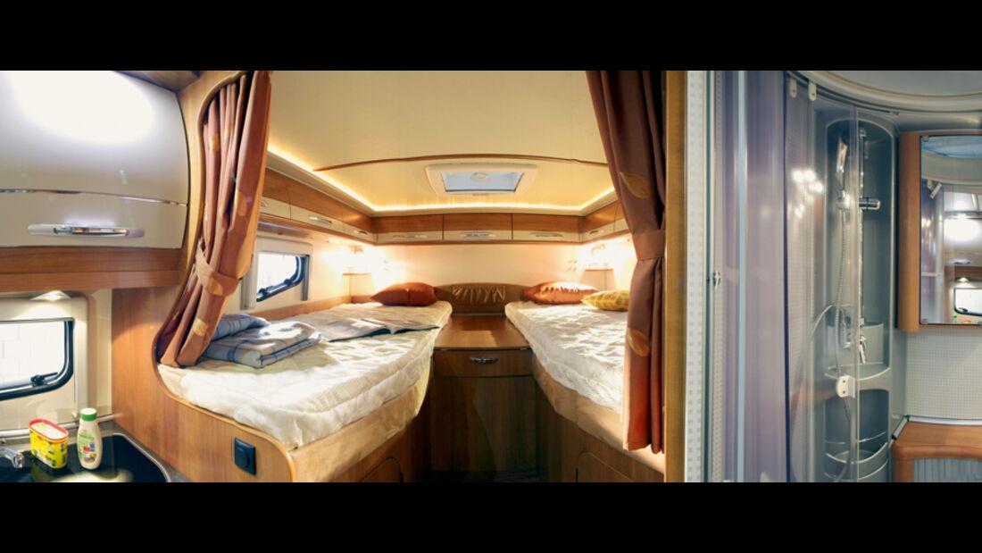 Hobby Van Exclusive DL 500 GESC Innenraum