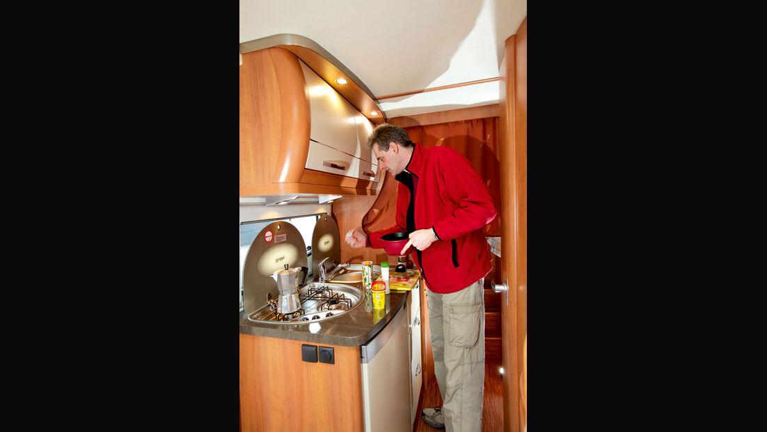 Hobby Van Exclusive DL 500 GESC Küche