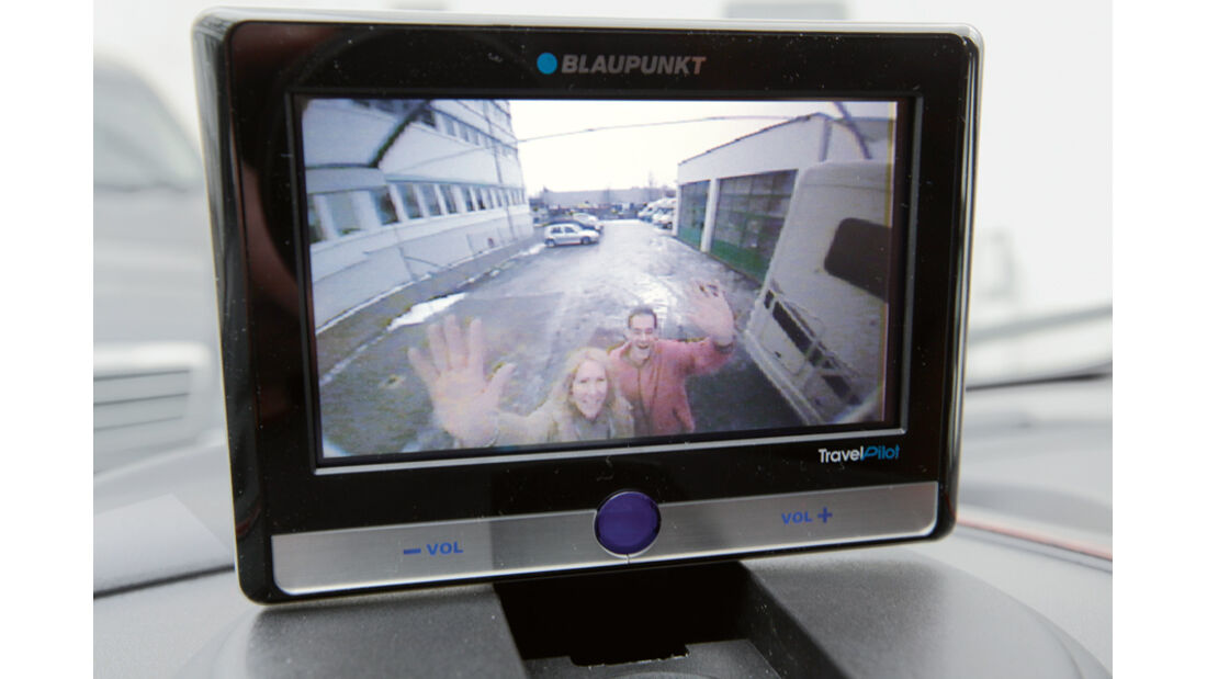 Hobby Van Exclusive DL 500 GESC Rückfahrkamera