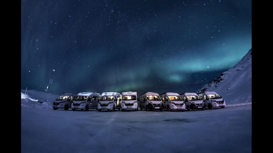 Hobby Wintercamping Norwegen 2019