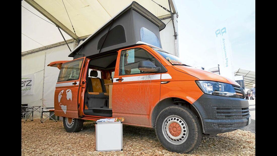 Hohe Alltagstauglichkeit steht auch beim VW T6 Flowcamper im Vordergrund.