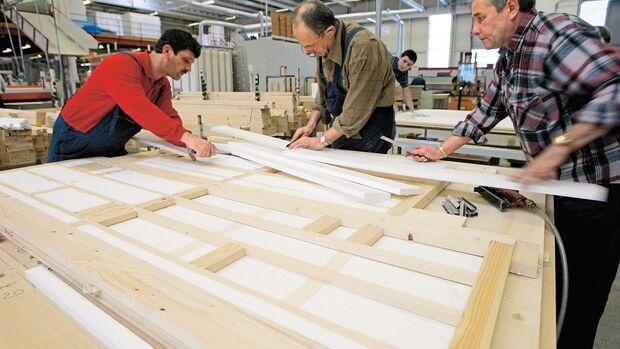Holzfachwerk
