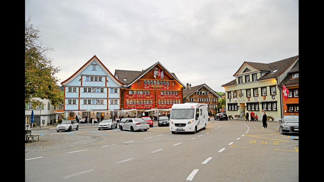 Holzhäuser in Appenzell