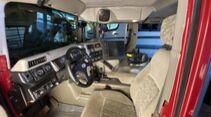 Hummer H1 mit Callen Camper-Absetzkabine