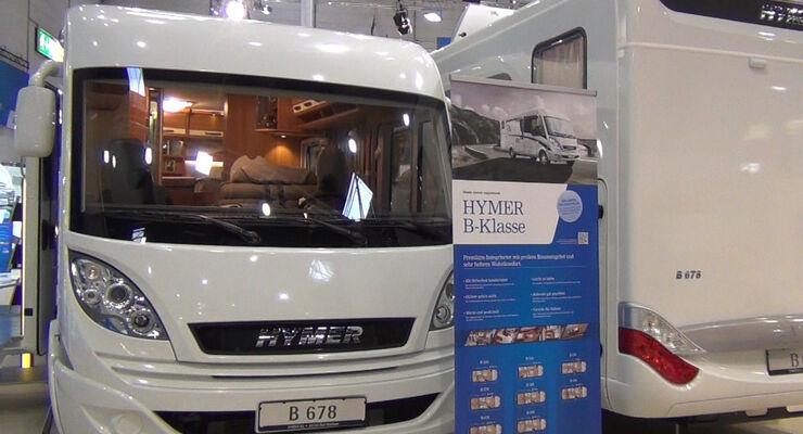 Hymer B-Klasse, Caravan Salon 2013