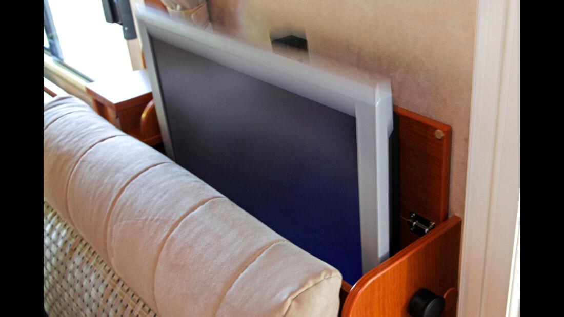 Hymer B-Klasse Fernseher