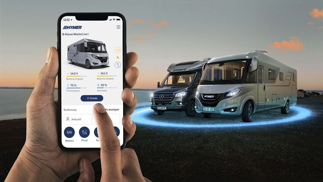 Hymer Connent App