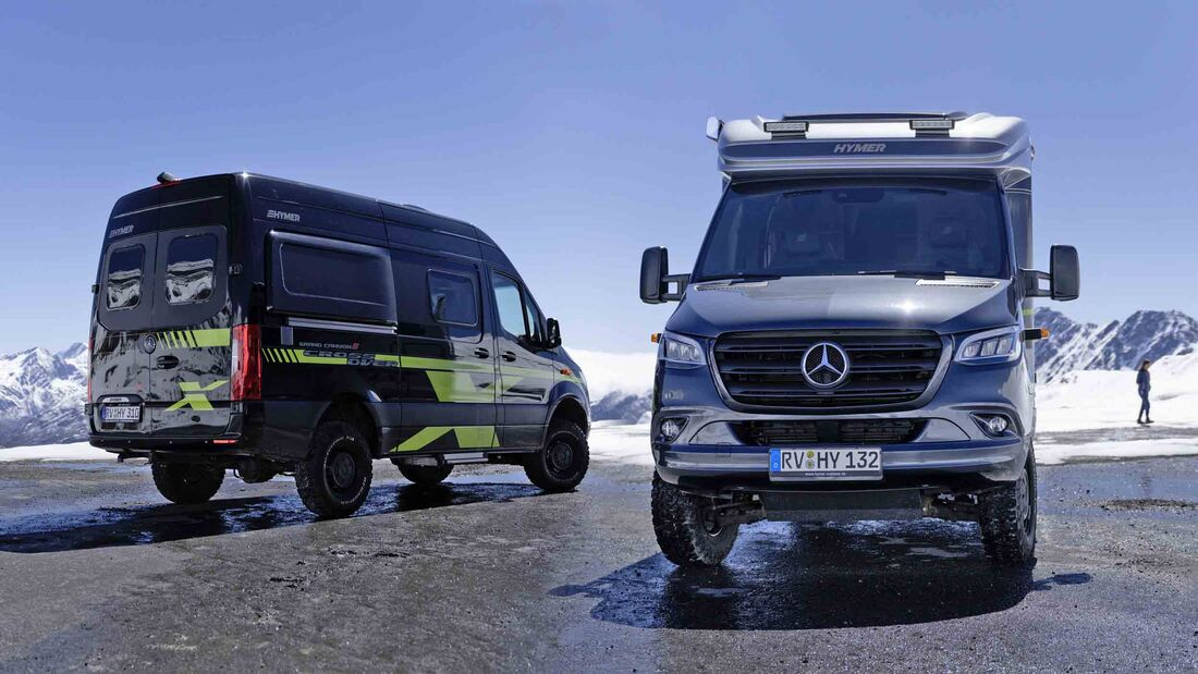 Hymer Crossover Edition Grand Canyon S ML-T 570 (2021)