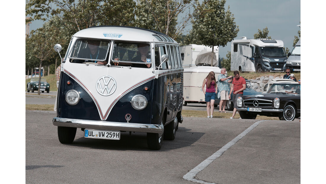 Hymer Historic 2017 Oldtimer-Rallye