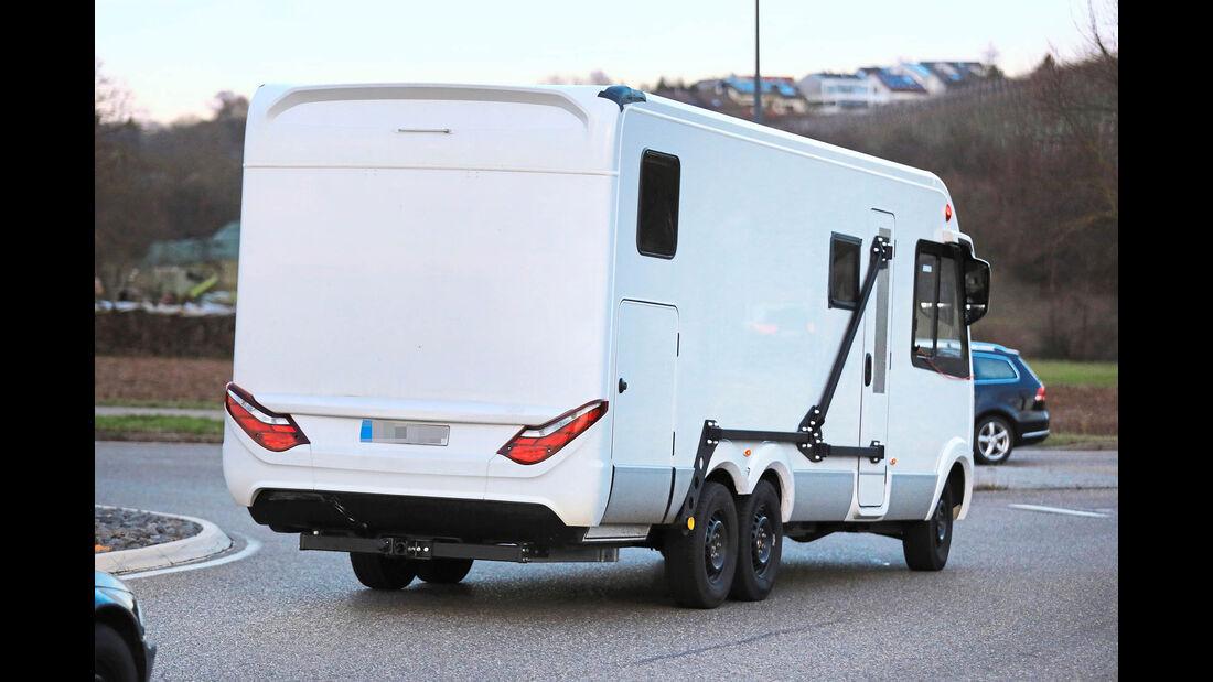 Hymer Mercedes Sprinter Erlkönig (2018)