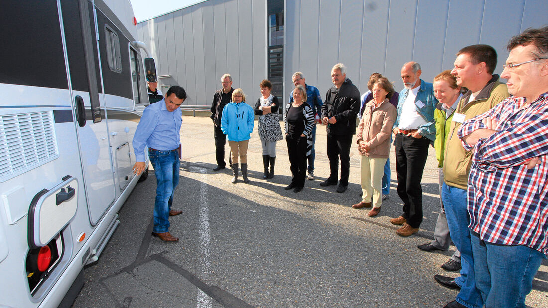 Hymer Produktentwickler im Interview