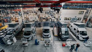 Hymer Werk Campervans Produktion Bad Waldsee
