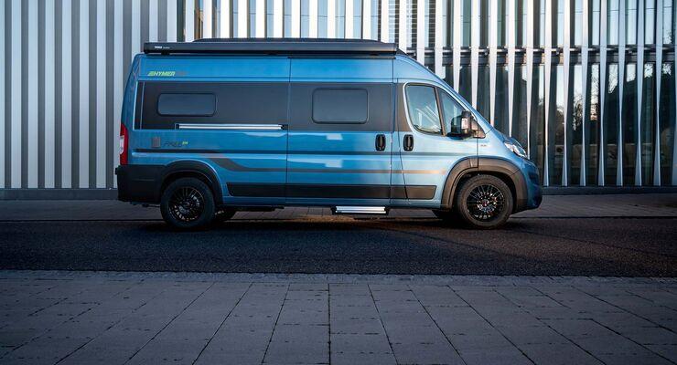 Hymercar Free 600 Blue Evolution (2019)