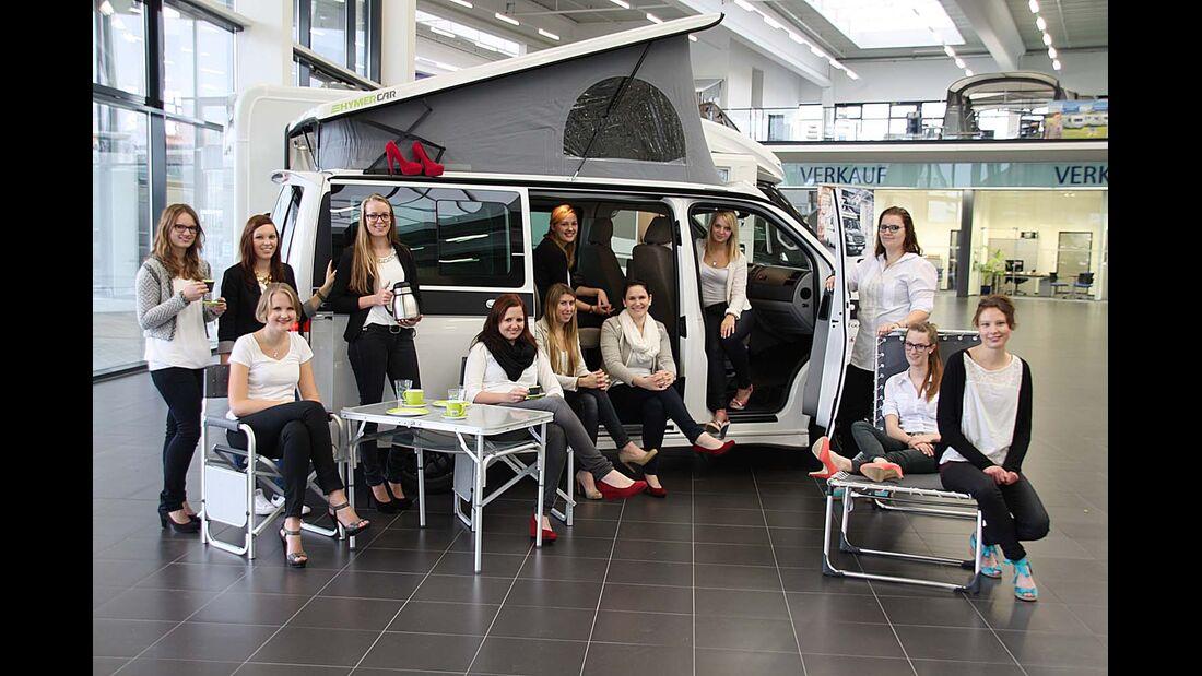 Hymercar Lady Camper auf VW T5