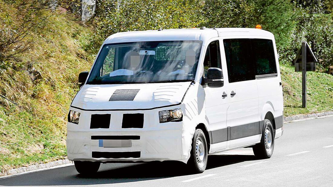 Im Herbst kommt der neue Crafter als reine Eigenentwicklung von VW.