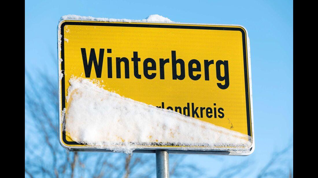 Im Rothaargebirge in der braven Kleinstadt Winterberg.