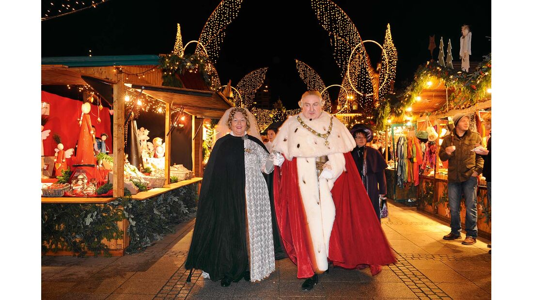 In Ludwigsburg wird die Barockzeit gefeiert.
