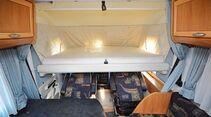 In einigen Grundrissen ist das Hubbett die Hauptliegefläche.