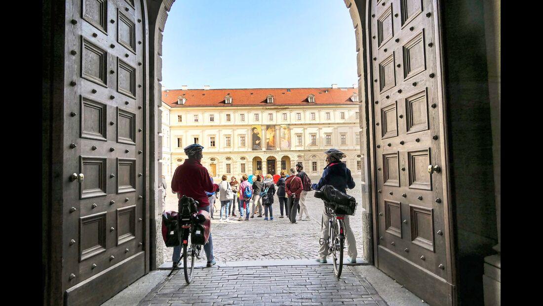 Innenhof Stadtschloss Weimar