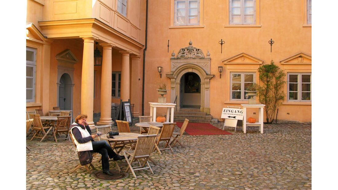 Innenhof von Schloss Eutin