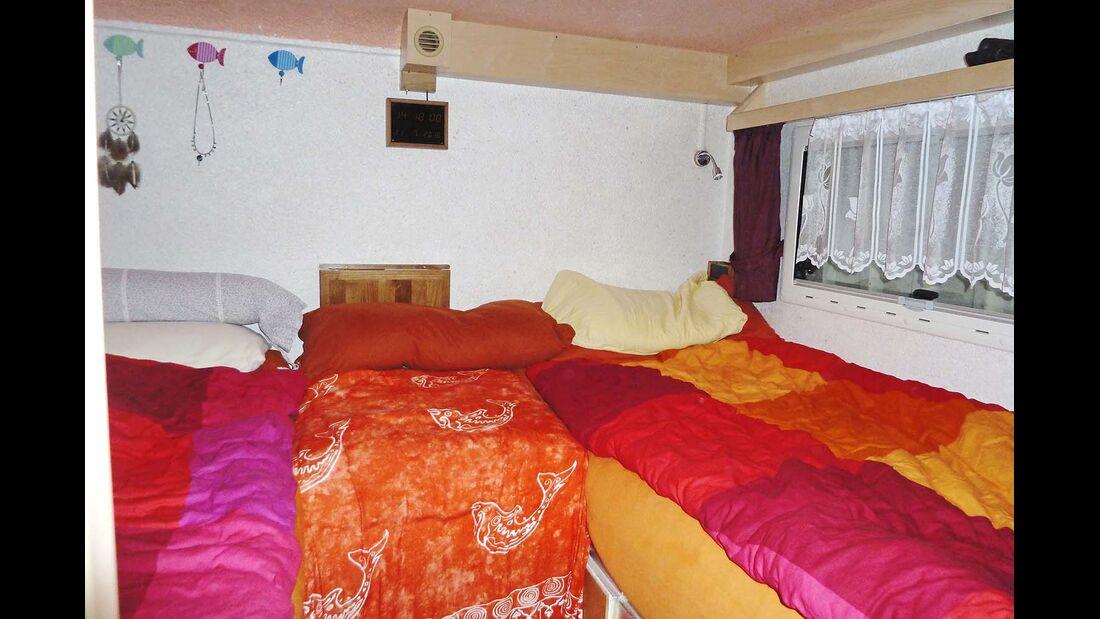 Innenraum Betten