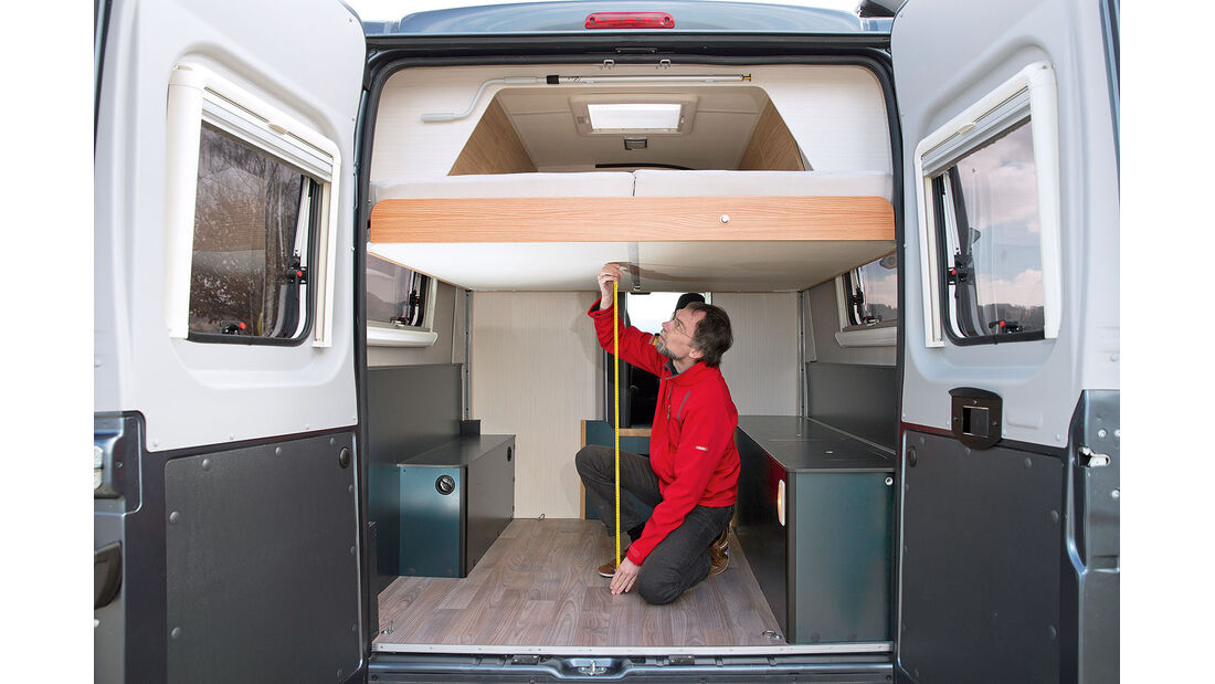 Innenraum Campingbus