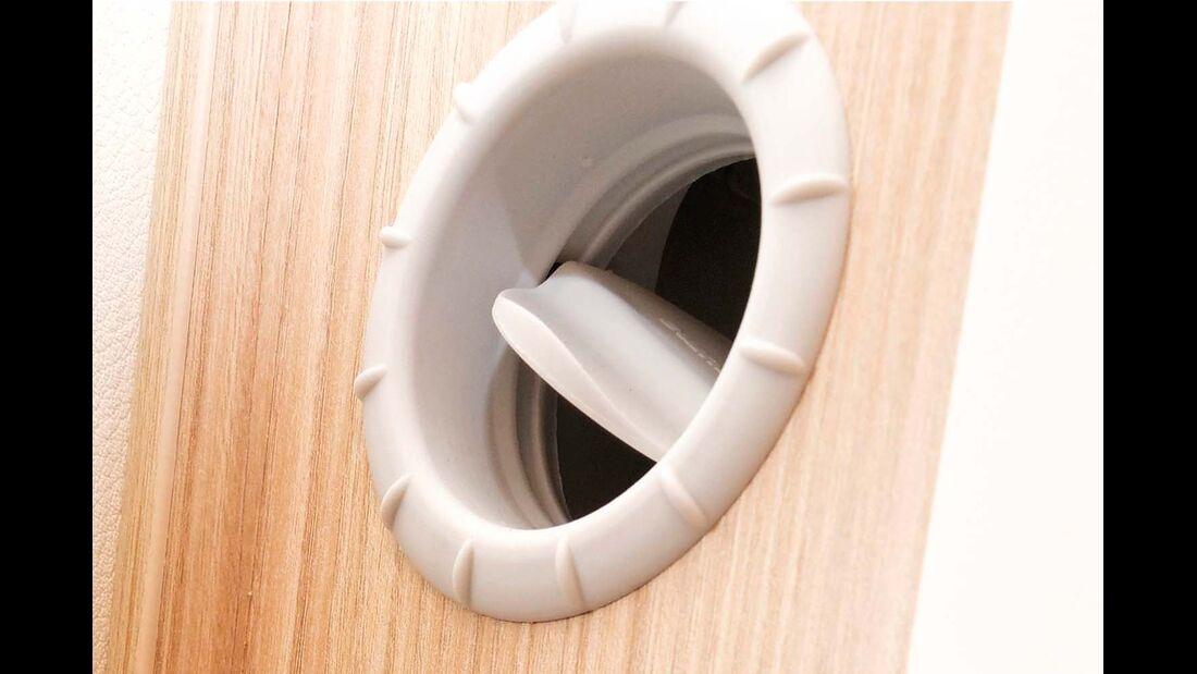 Insgesamt 11 Ausströmer bringen den Innenraum und die Heckgarage zügig auf Temperatur.
