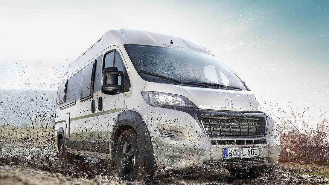Intercaravaning Vantourer Cross Edition 600 L