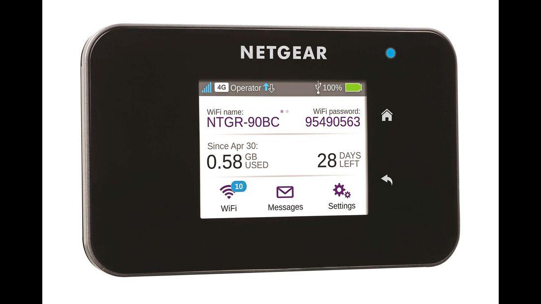 Internet unterwegs LTE-Router