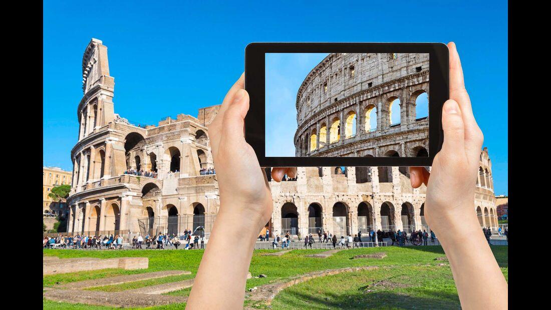 Internet unterwegs Rom