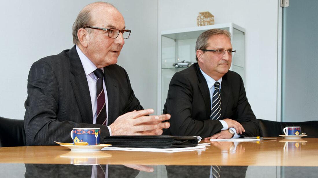 Interview: Josef Spichtig, Hermann Pfaff