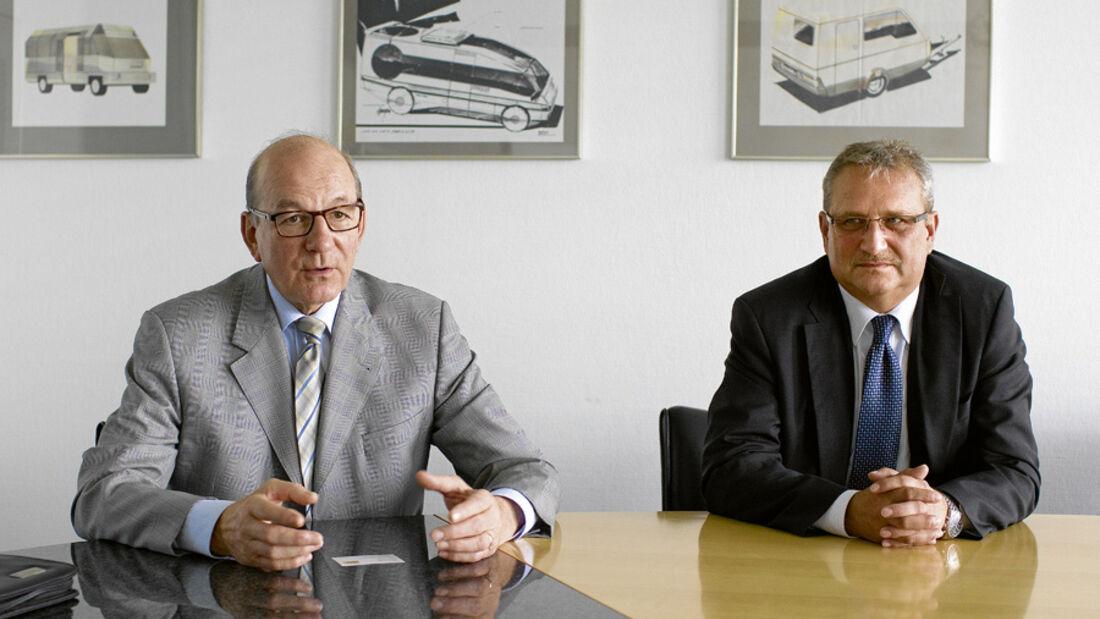 Interview, Josef Spichtig/Hermann Pfaff