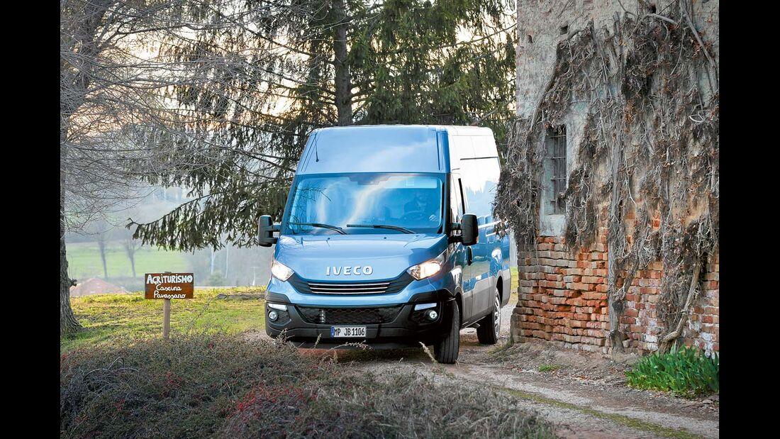 Iveco rüstet den Daily mit schadstoffärmeren EURO-6-MOTOREN aus.