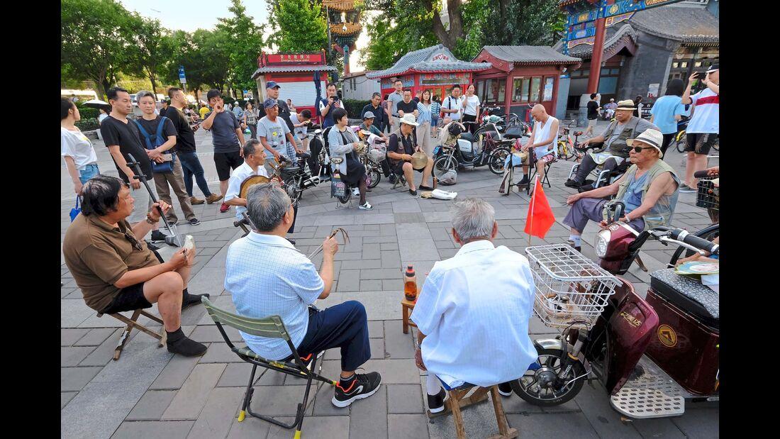 Jam-Session im Behai-Park