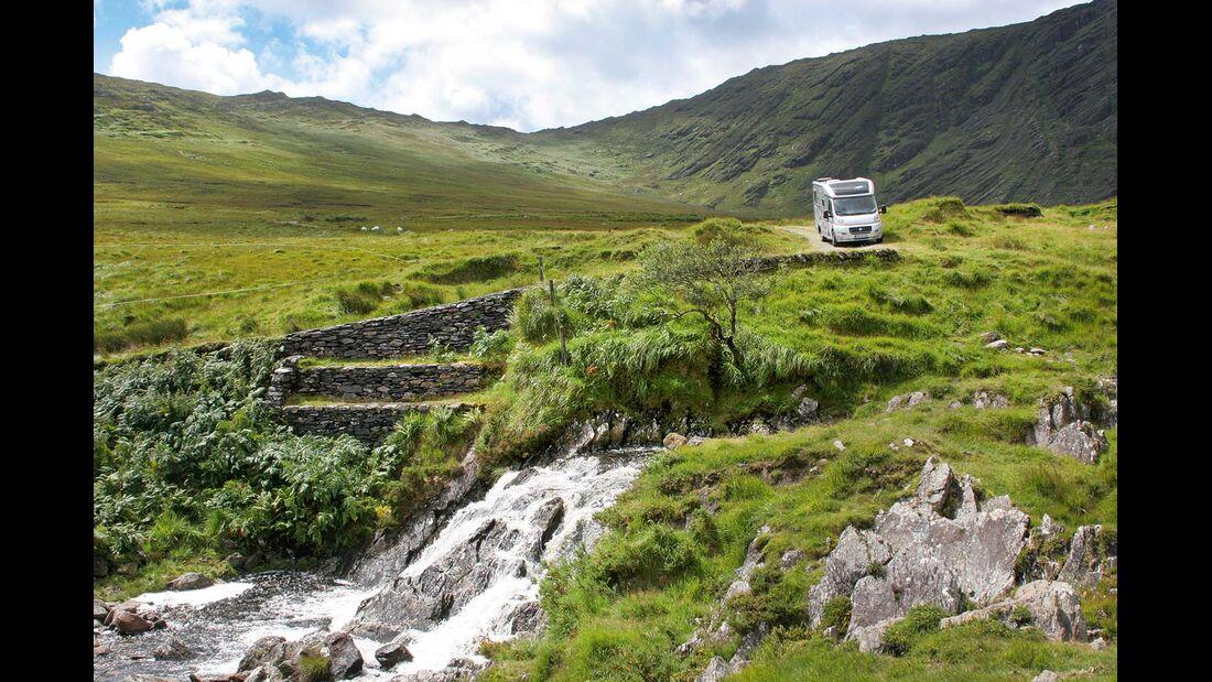 Je mehr Personen in einem möglichst windschnittigen Reisemobil unterwegs sind, desto besser fällt auch die Umweltbilanz aus
