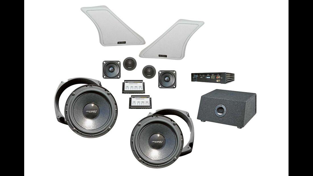 Jehnert Sounddesign stellt sein neues Soundsystem für den VW T6 vor.