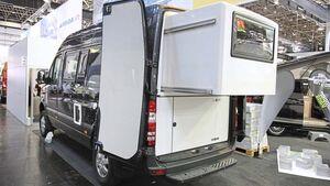 Jetzt auch für Kastenwagen: Slide-out von Reimo hier im Modell Star.