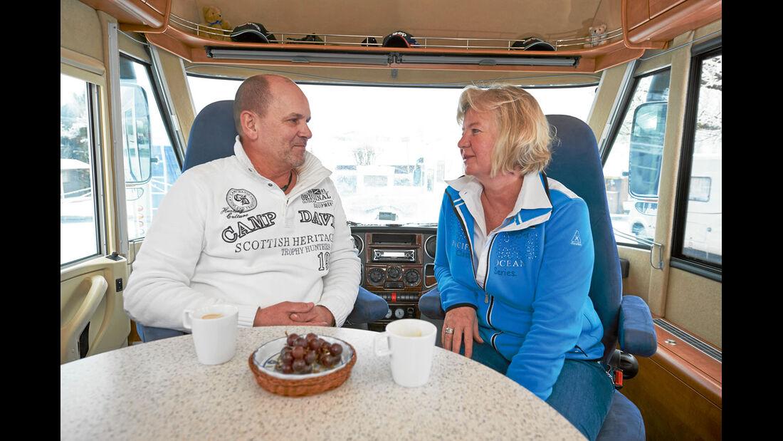 Joachim und Petra Huettenhoff aus Muelheim