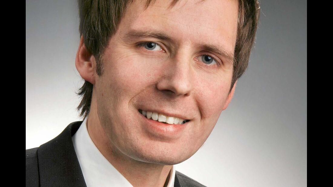Jost Krüger vom Industrieverband CIVD, Leiter Referat Technik und Umwelt