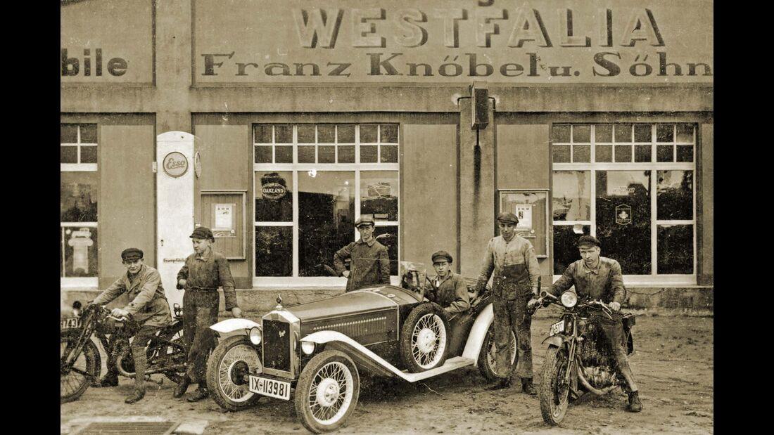 Jubiläum 175 Jahre Westfalia